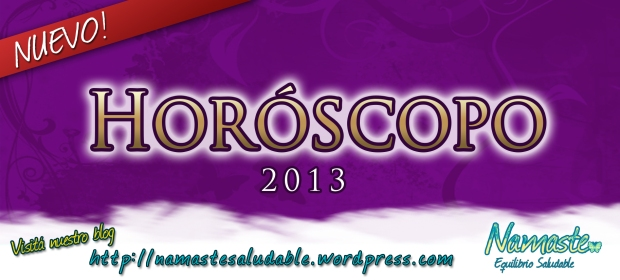 HOROSCOPO 2013